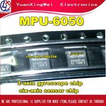 Livraison gratuite 10 pièces/lot MPU-6050 dorigine MPU6050 QFN24 3 axes gyroscope puce six axes capteur puce
