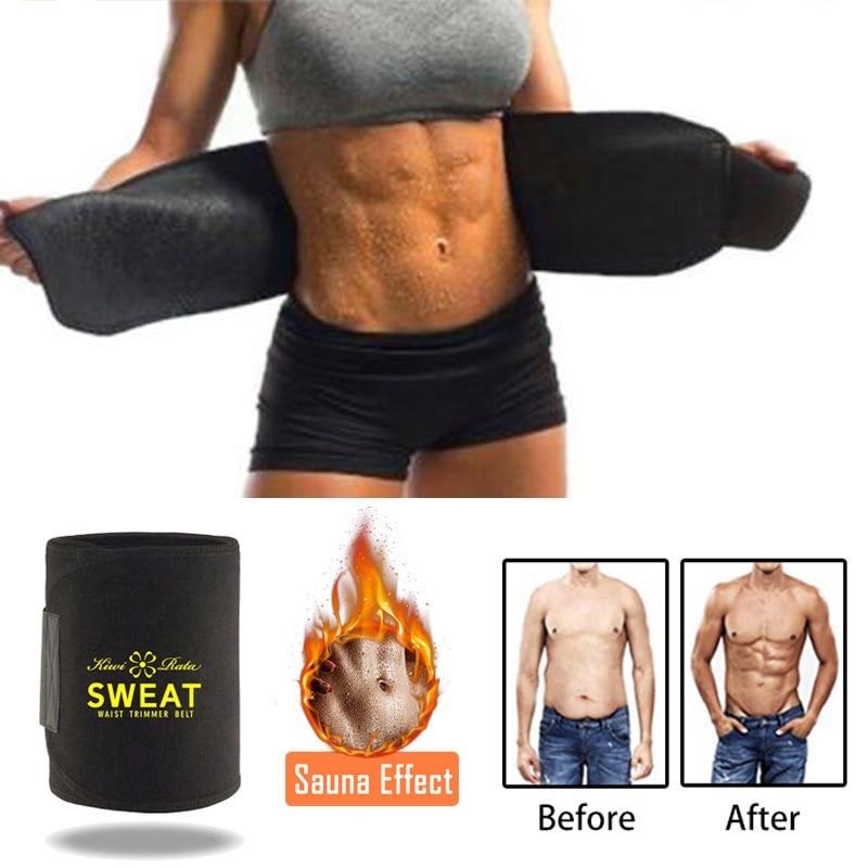 Мужская и женская Неопреновая поясничная поясная лента для похудения, пояс для фитнеса