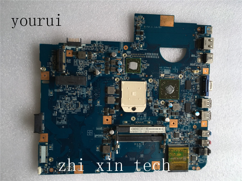 Yourui Per Acer aspire 5542 5542G scheda madre Del Computer Portatile MBPHP01001 MB. PHP01.001 48.4FN01.011 Mainboard DDR2 lavoro di Test perfetto