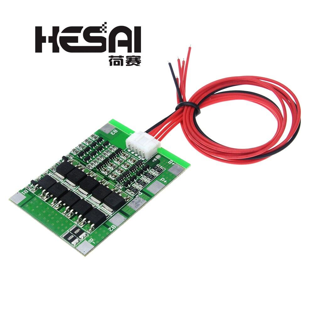 Литий-ионная батарея 18650, BMS пачки, Щит защиты печатной платы, баланс, электронные схемы, 4S 30A 14,8 в