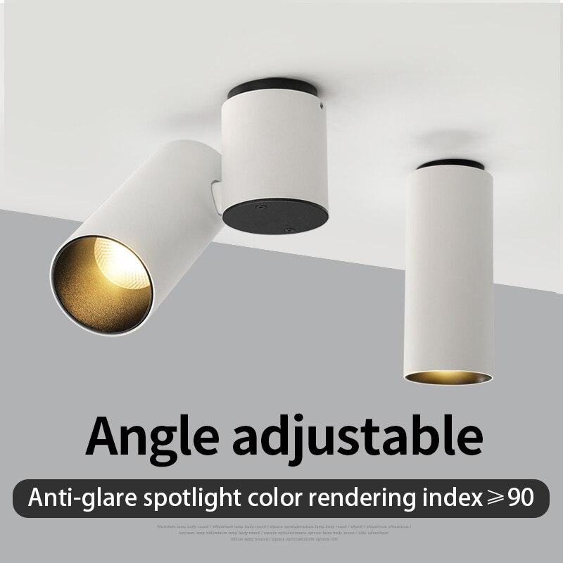 Puluoti Surface Mount Angle Adjustable  LED Spotlight
