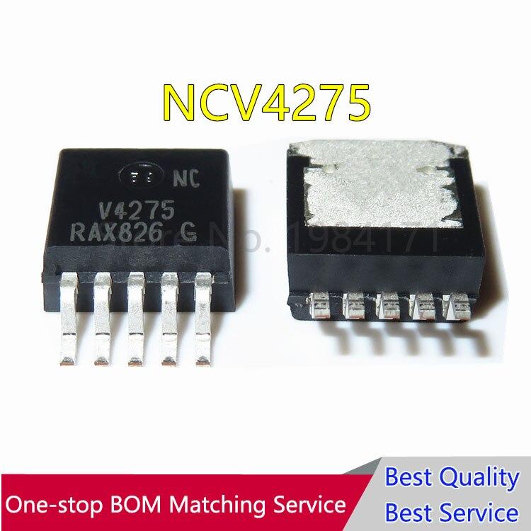 5 Pcs V4275 NCV4275 TO263 Novo