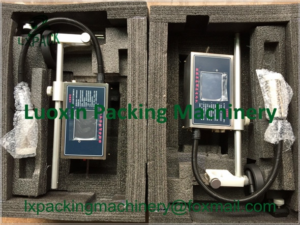 LX-PACK Menor Preço de Fábrica portátil impressora com tinta para o Vinho preto vermelho azul verde amarelo Folha de material de Construção