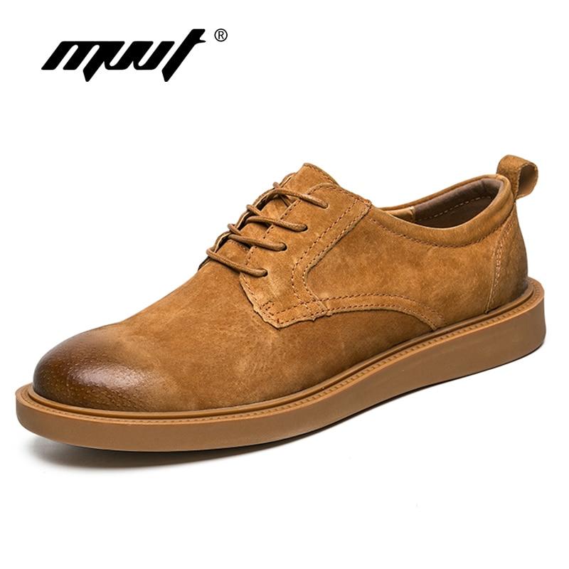 Classic Design Men Casual Shoes Genuine Leather Shoes Men Flats Oxfords Shoes Lace Up Men Loafers Hot Sale Moccasins Shoes