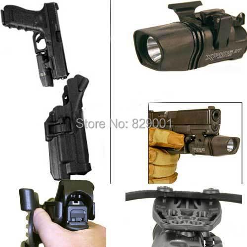 Tático airsoft holsters preto nível 3 tático glock tac serpa pistola glock coldre