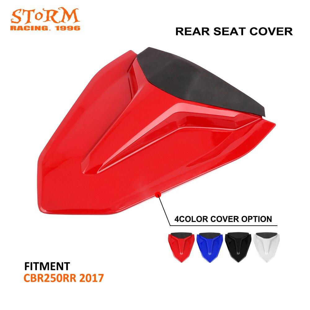 Cubierta de asiento trasero de motocicleta, cubierta de carenado para Honda CBR250RR CBR 250RR 2017