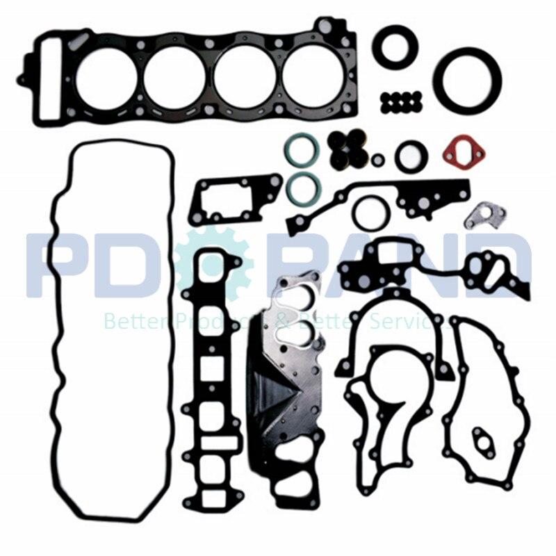 22R de reacondicionamiento general del motor reconstrucción Junta Kit 04111-35342 para Toyota LAND CRUISER J8 FJ80 CRESSIDA 2367cc 2.4L 1984- 1996