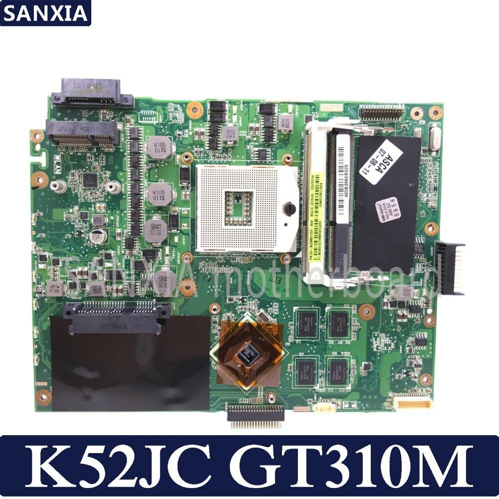 KEFU K52JC материнская плата для ноутбука ASUS K52JC K52JT K52JR тестовая оригинальная материнская плата GT310M