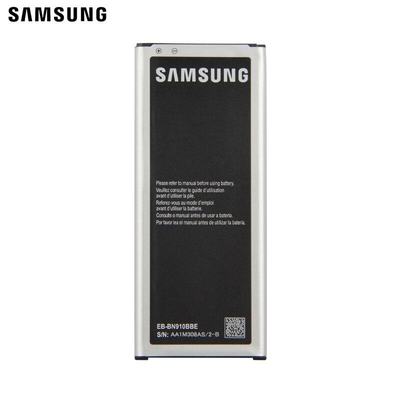 Samsung оригинальный аккумулятор EB-BN910BBE EB-BN910BBU для GALAXY NOTE4 N910F N910H N910V N910C N910a N910u NOTE 4 EB-BN910BBC