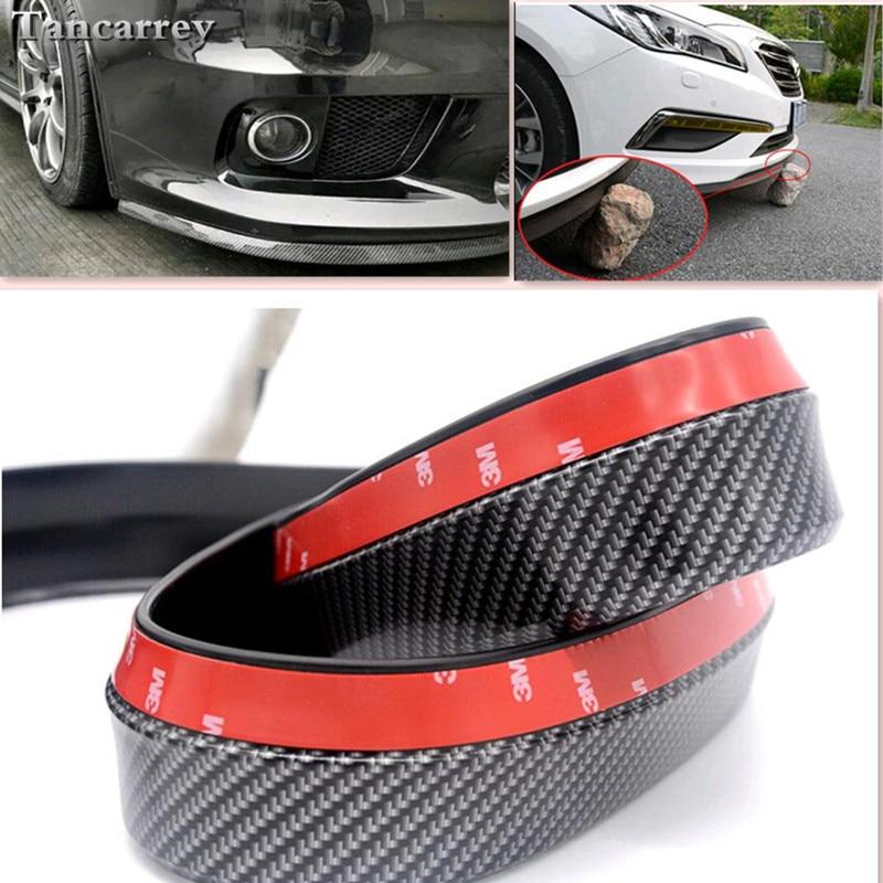 2020 nuevo estilo 2,5 M labio delantero de coche pegatinas de parachoques para asiento ateca volvo xc60 touran opel insignia bmw e87 ford focus coche-estilo