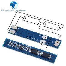 TZT 2S 3A Li-ion batería de litio 7,4 v 8,4 V 18650 Placa de protección de cargador bms pcm para li-ion lipo Paquete de batería