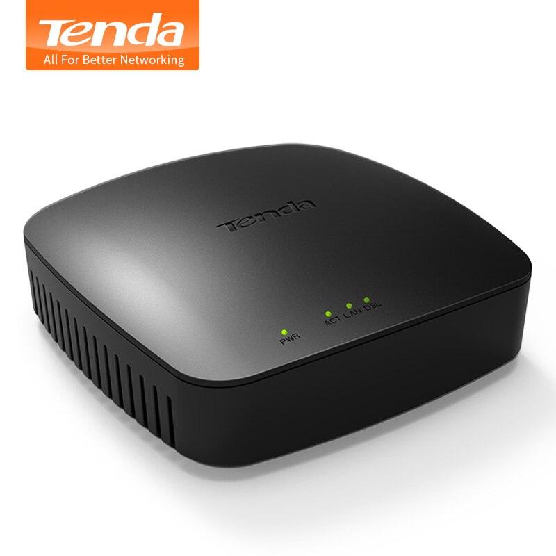 Tenda D9 ADSL2 + модем moden широкополосный Универсальный Модемы Интернет кабель