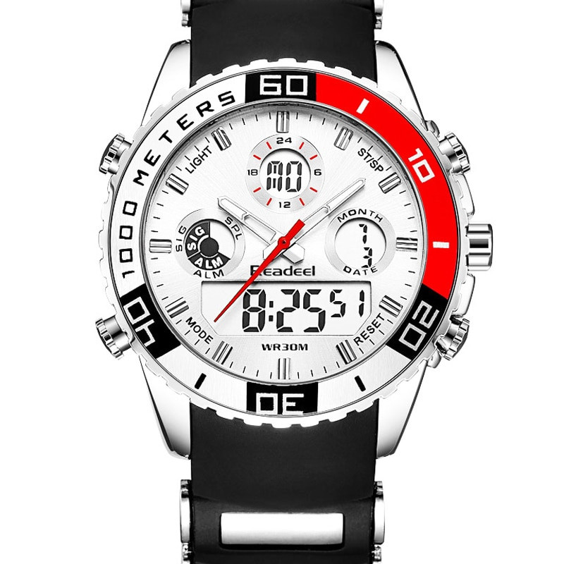 Top New Brand Watch Men Date Day LED Display Luxury Sport Watches Digital Military Men's Quartz Wrist watch Relogio Masculino