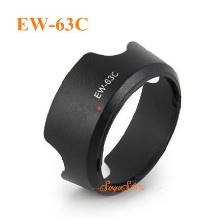 Reversible EW-63C 58mm ew63c lentes capucha para Canon EF-S 18-55mm f/3,5-5,6 STM con número de seguimiento
