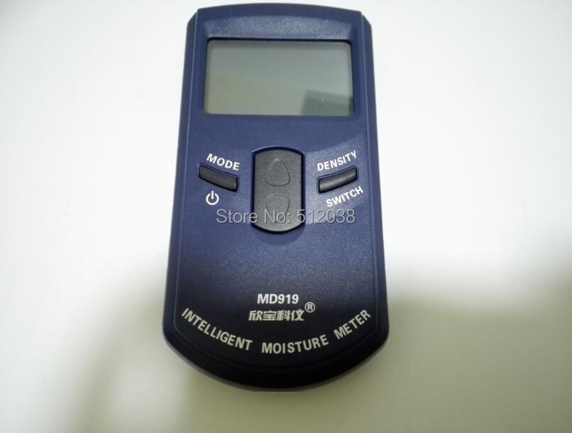 MD919 Digital Inductive Paper Moisture Meter Tester 4%-40% RH