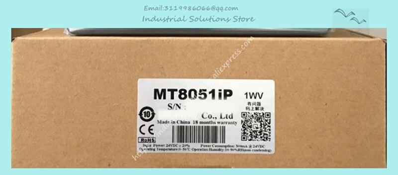 لوحة شاشة لمس HMI MT8051 MT8051iP, 4.3 بوصة TFT 480*272 مع استبدال إيثرنت MT6050IP MT6051IP جديد