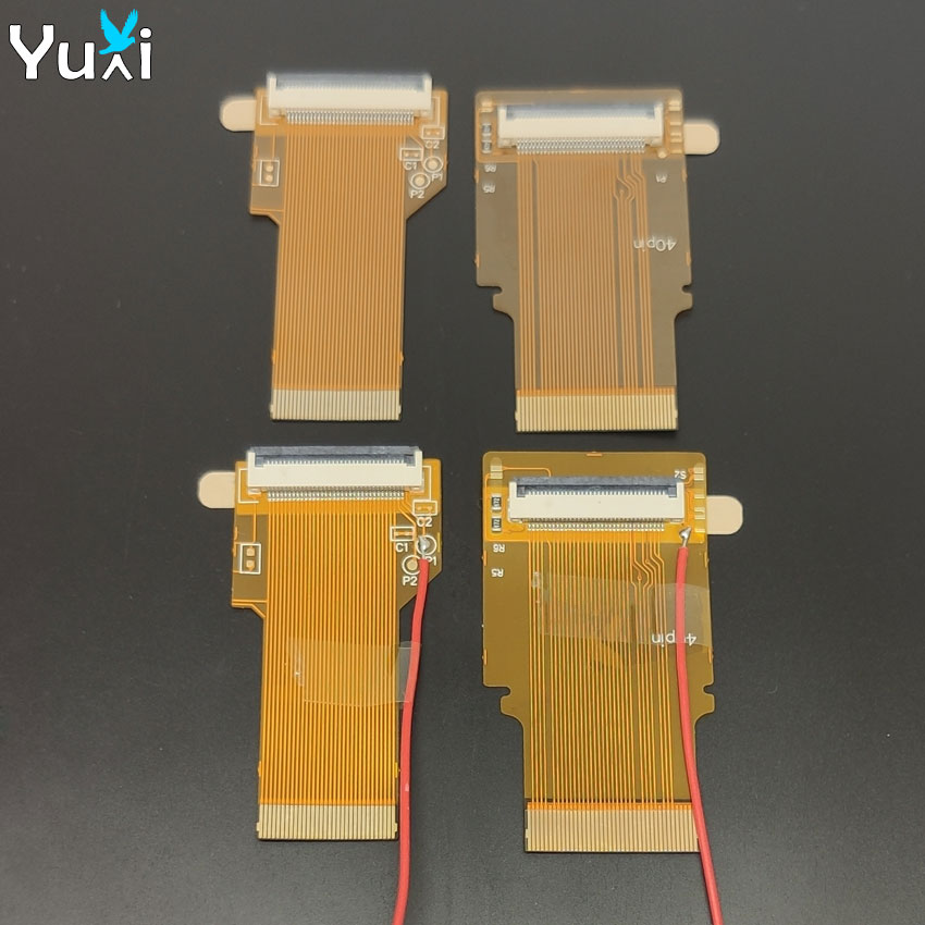 YuXi For Gameboy advance SP Ribbon Flex cable AGS 101 backlit adapter 32 40 pin with/without cable For GBA SP