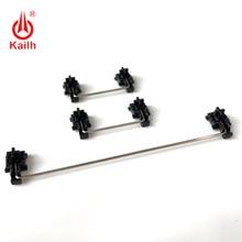 Kailh estabilizadores montados en placa Funda negra para 1350 interruptores de Chocolate Teclados mecánicos 2u 6.25u