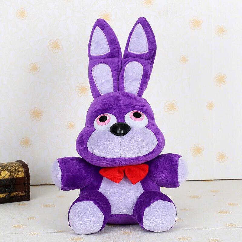 35 cm Fnaf Bonnie conejo de Peluche Juguetes de Peluche niños Juguetes blandos Peluches Juguetes de bebé niña niño juguete
