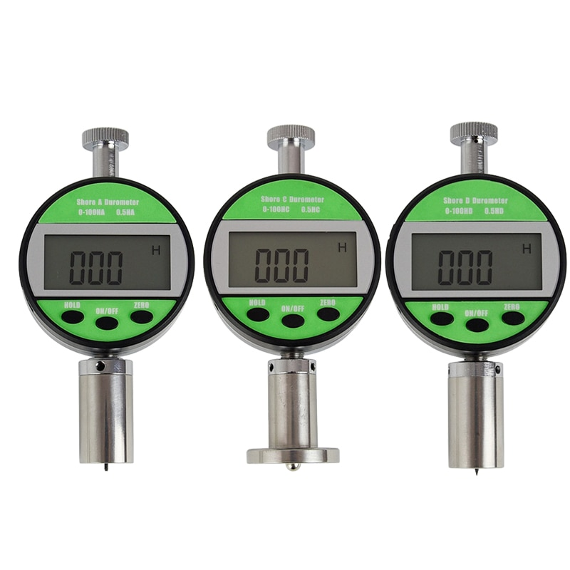 LX-A LX-C LX-D Digital Shore Hardness Tester Portable Durometer Hardnessmeter for rubber Plastic leather