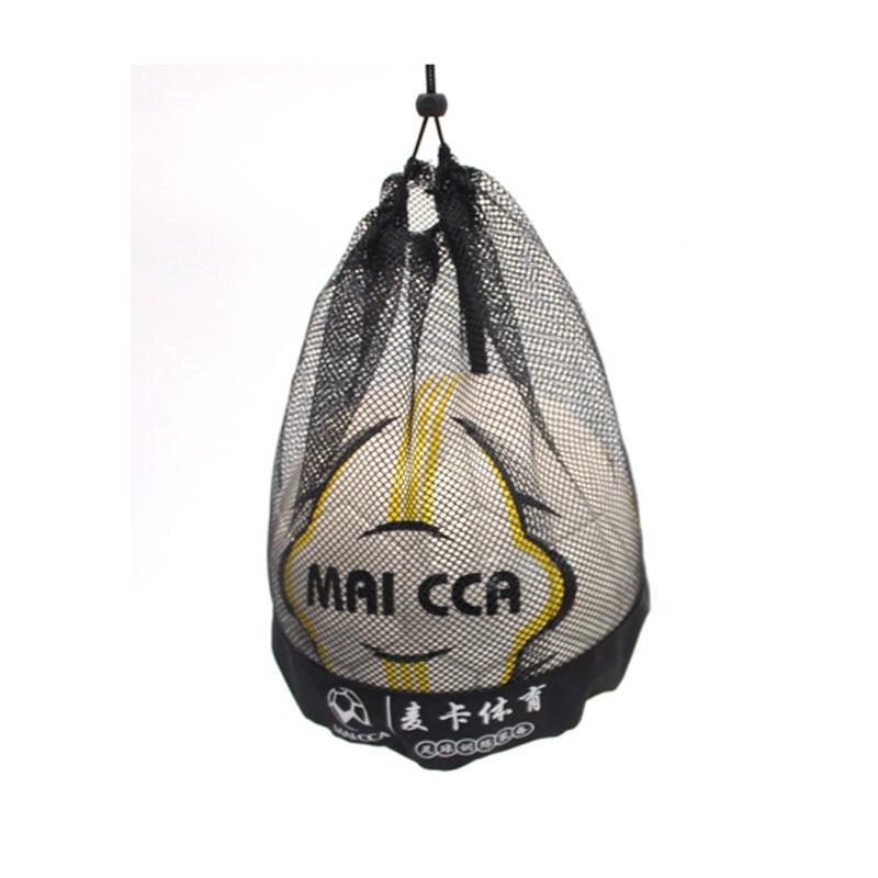 Сумка для мяча MAICCA для футбола, баскетбола, волейбола, портативная Сетчатая Сумка для мяча, Спортивная переноска, оптовая продажа