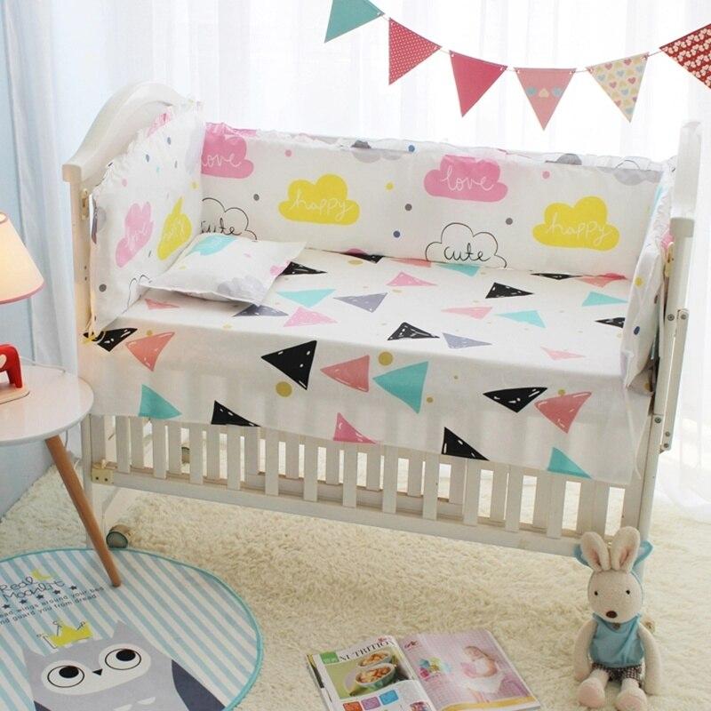 10 stücke Baby Bettwäsche Set für Junge, Wolken Kleinkind Krippe Bett Liner, baby Bett Blatt Abdeckung Krippe Organizer, Baby Quilt Nestchen Tröster