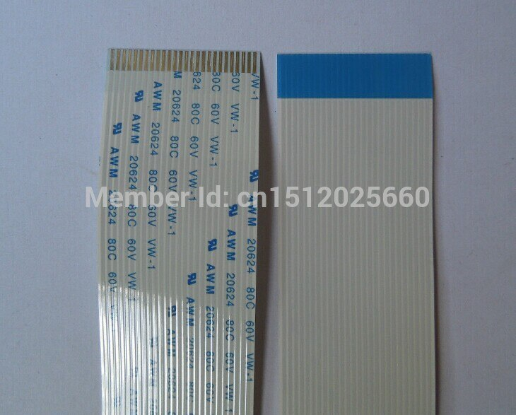 10 Uds 30PIN, línea plana FFC/TTL, Cable suave, espaciado de 1,0 MM,...