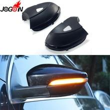 Para VW Passat B7 CC Scirocco Jetta MK6 EOS LED ala lateral espejo retrovisor indicador parpadeante lámpara dinámica Luz de señal de giro