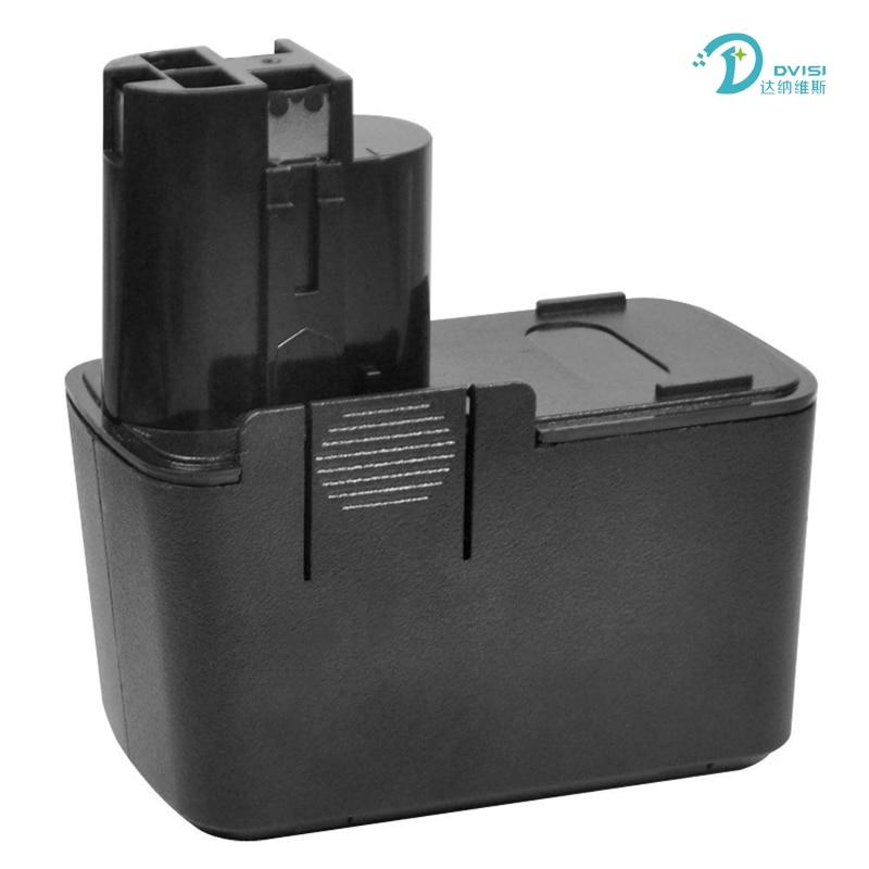DVISI 12V 12V 2000mAh Pack de batería recargable batería de herramientas eléctricas para Bosch BAT011... BH1214H... BH1214L... BH1214MH... H1214N Ni-CD