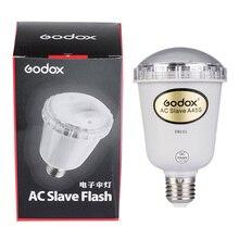 Вспышка Godox A45s для фотостудии, стробосветильник для фотостудии, лампа вспышка AC Slave для E27 220 В