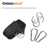 CrossRoad Hammock Strap rope professional belt with S hooks/hang buckle/2 carabiner