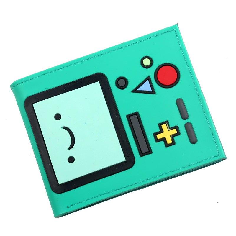 Cartera Adventure Time, estuche protector para tarjetas de crédito, cartera plegable