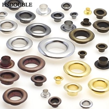 Œillets métalliques 6MM 8MM pour le cuir   Chaussures dartisanat, bricolage, Scrapbooking, accessoires pratiques de mode 50 pièces/paquet
