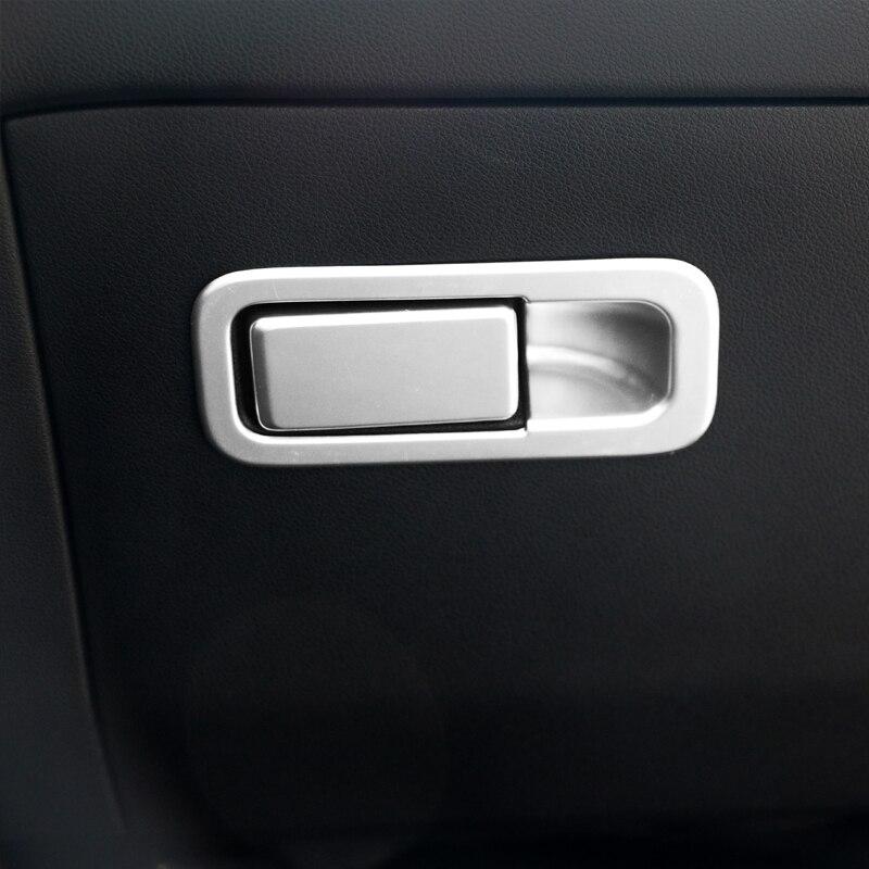 Voiture style intérieur Co pilote boîte de rangement poignée bol couverture décoration autocollant pour Kia Sportage 2016 2017 2018 2019 accessoires