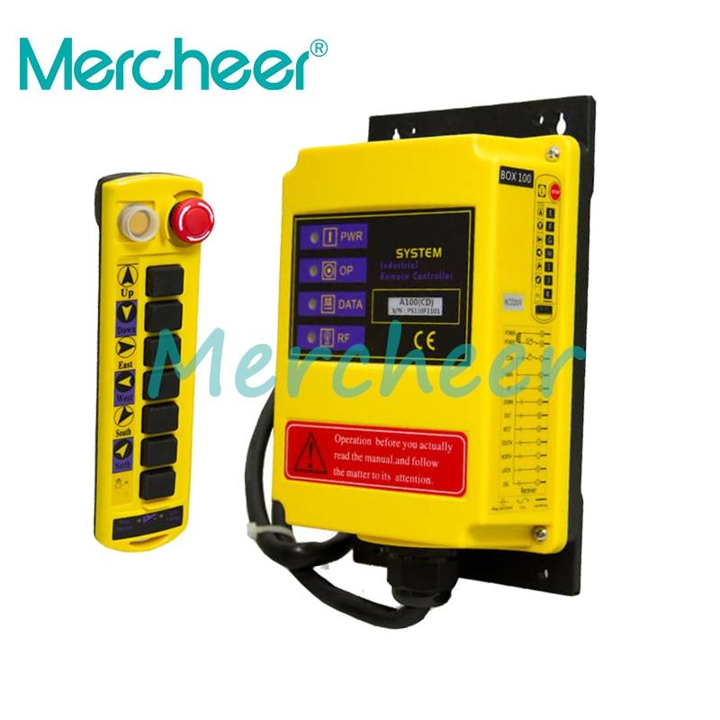 1 مراقبة السرعة رافعة كرين نظام التحكم عن بعد MC100