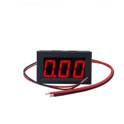 100 pçs/lote por dhl fedex DC 0-10A Amperímetro Medidor Digital Do Carro display LED vermelho atual Ampere Medidor de Painel tester para motocicleta 20% O