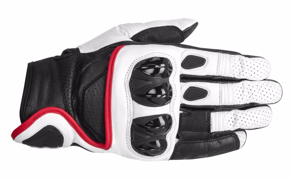 Guantes de Celer para Motocross, 4 colores, Moto GP, motocicleta de carreras, guantes de corta de piel