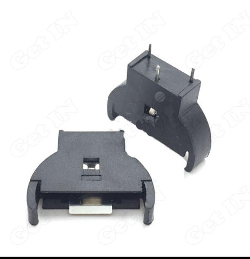 300 Pcs 2032 Verticale Type Batterijhouder CR2032/ML2032/LIR2032 3Pins Batterij Connector Jacks