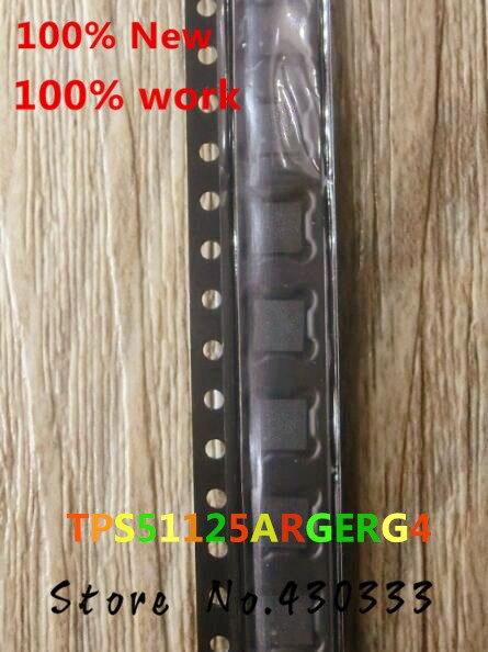 10pcs 100% New TPS51125ARGERG4 TPS51125A 51125A QFN-24