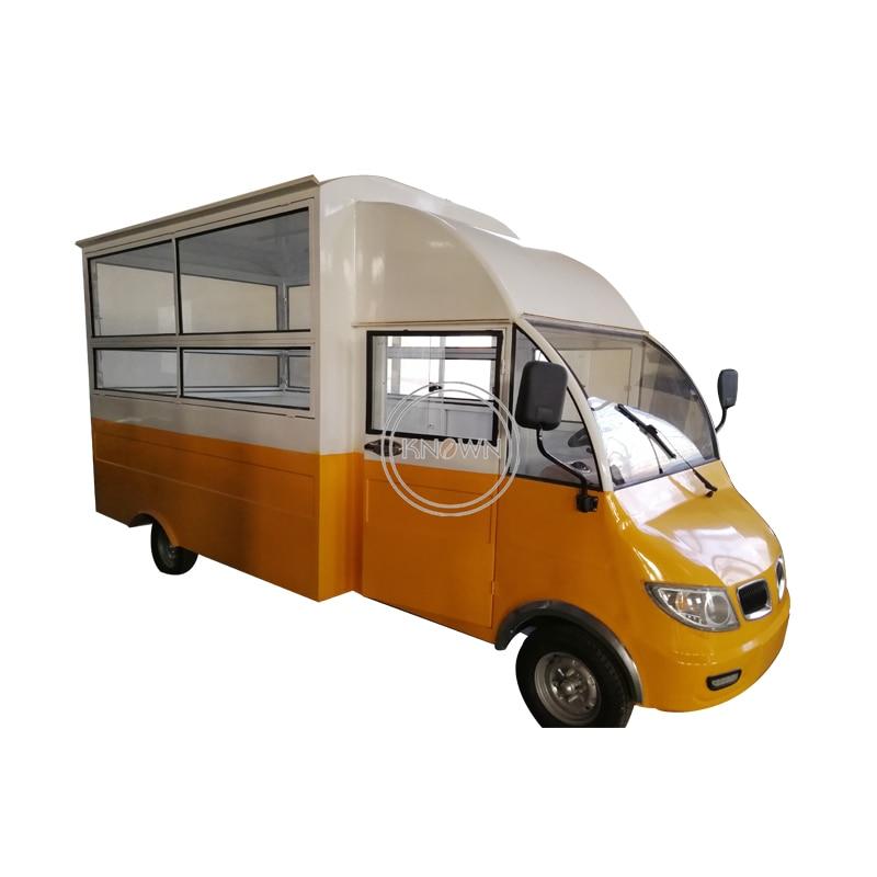 Carrito para comida eléctrico rápido de 5,1 m/remolque de alimentos móvil de carretera/vehículo eléctrico en venta
