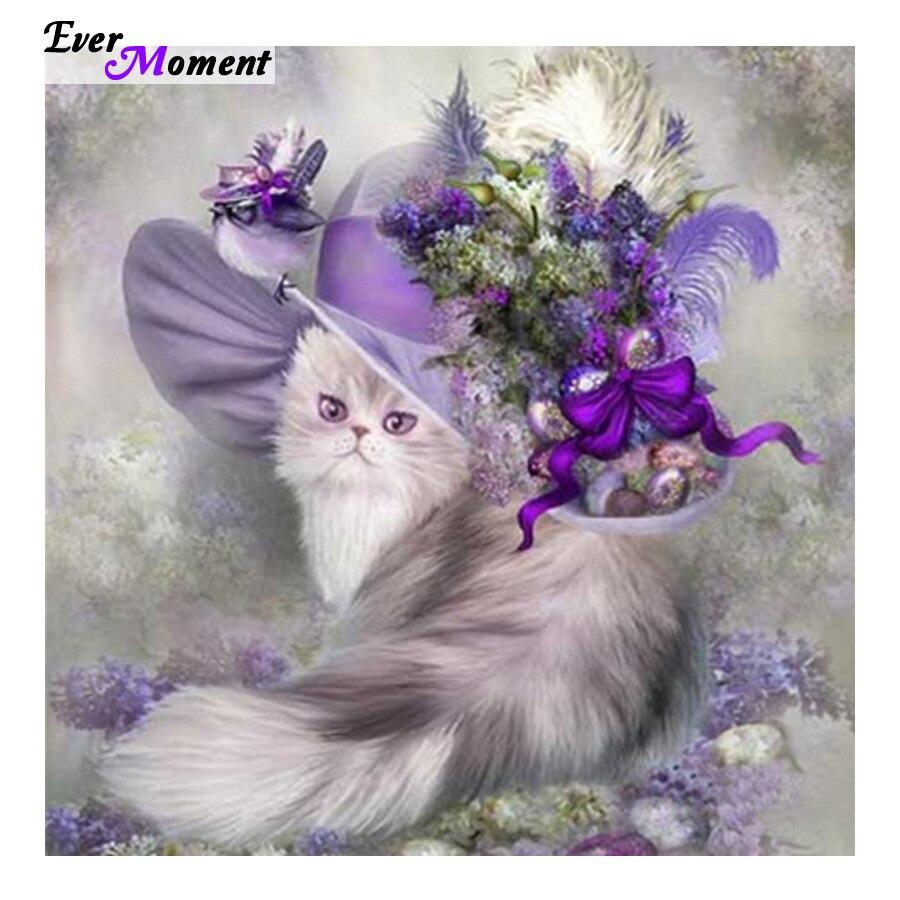 Ремесло 5D алмазная картина кошка смола мозаика Алмазная картина вся картина сверло вышивка бриллиантами животное ASF119