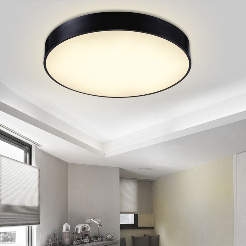 Modern Minimalism LED Ceiling Light round Indoor LED down light Ceiling Lamp creative personality study dining room balcony lamp  - buy with discount