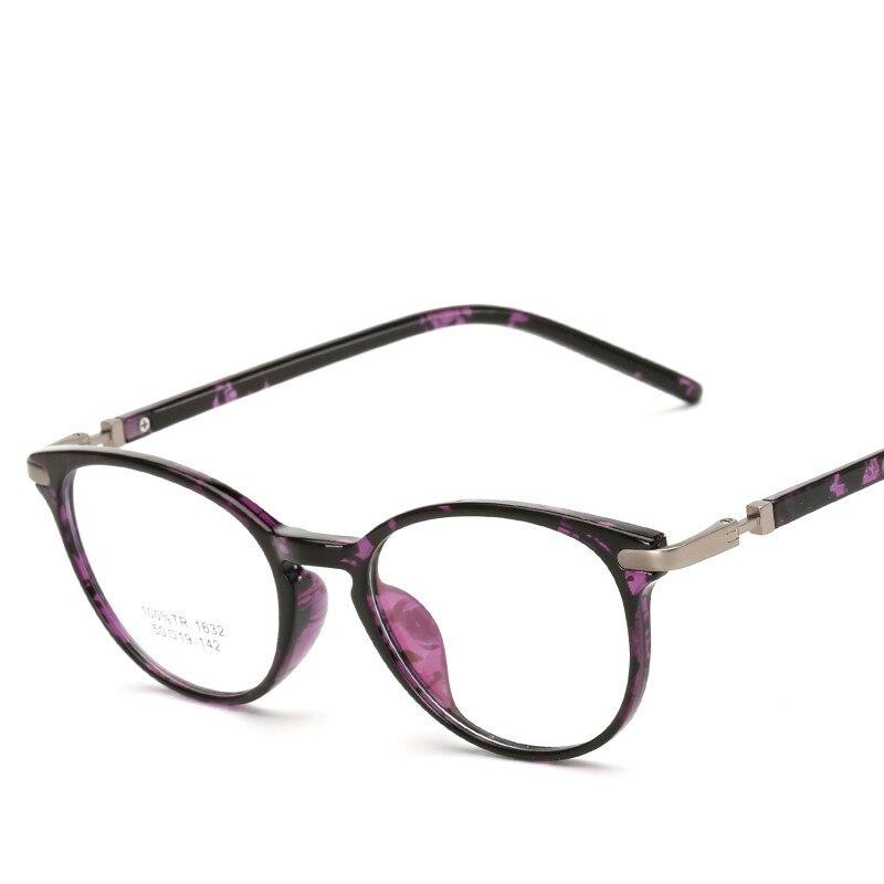 2018 винтажные круглые очки TR90 оптика оправа женские брендовые дизайнерские модные мужские прозрачные линзы очки