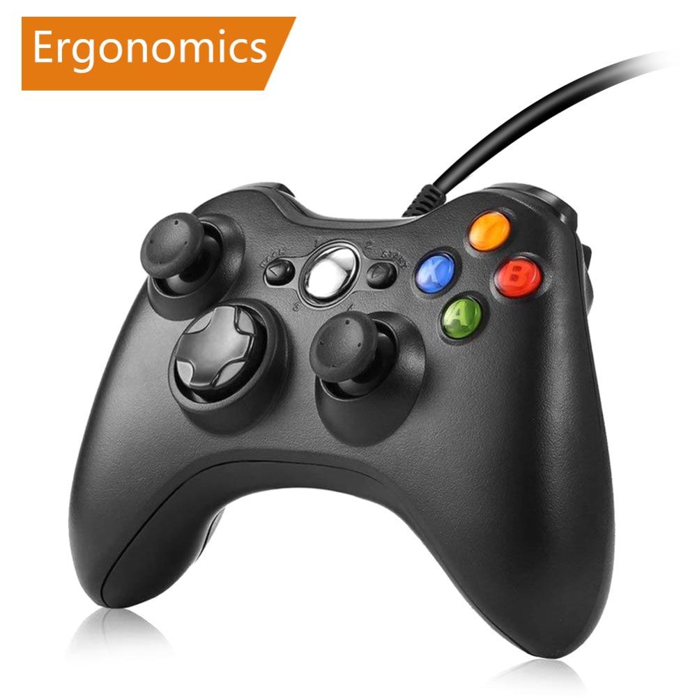 Геймпад для xbox 360 проводной контроллер для xbox 360 Controle проводной джойстик для xbox 360 игровой контроллер геймпад Joypad геймпад джойстик приставка игровая dualshock 4 для телефона пк gamepad андроид джостик