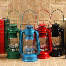 Vintage LED Camping lanterne Portable en plein air kérosène lanterne ouragan huile lampe LED durgence LED lampe à piles