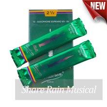 Frankreich Vandoren Bb sopran sax schilf grün box java sopran saxphone reed