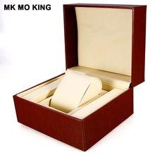 Skórzana biżuteria luksusowa marka pudełko dla dw rolex Cartier tissot Omega Longines Panerai IWC AP męska damska bransoletka do zegarka box