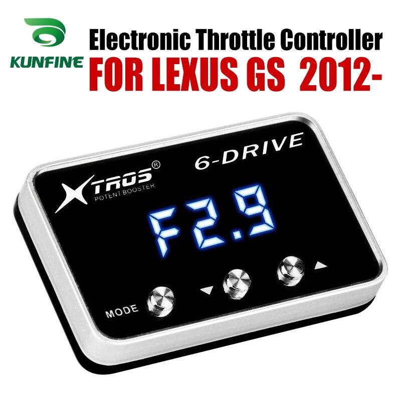 Controlador electrónico de acelerador de coche Racing acelerador potente Booster para LEXUS GS 2012-2019 accesorio de piezas de sintonización