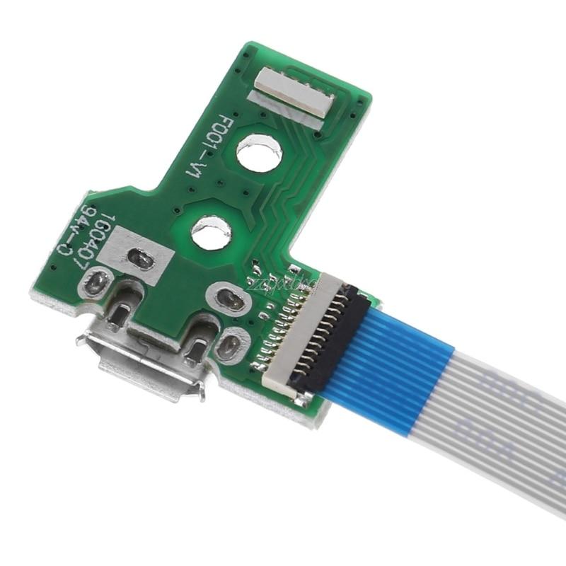 Tarjeta de puerto de carga USB con Cable flexible de 12 pines...