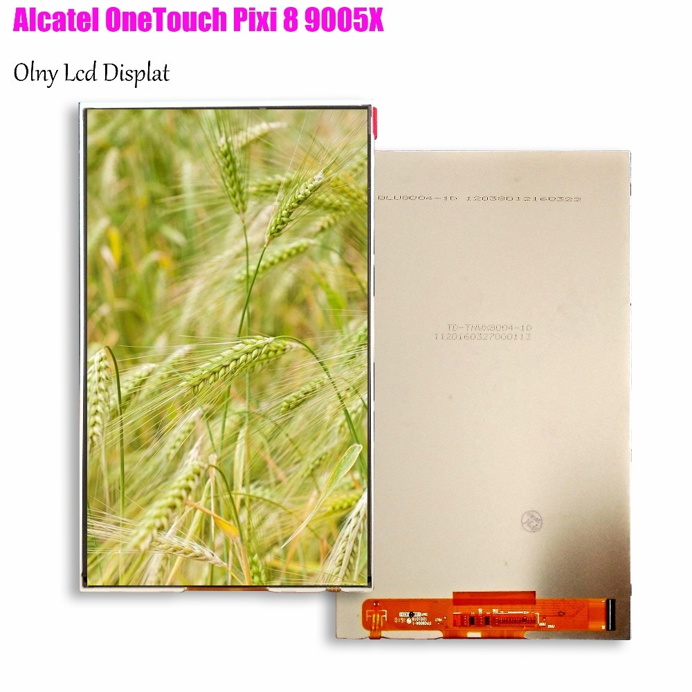 FPC8004-1 de matriz LCD de 8 pulgadas para Alcatel OneTouch Pixi 8 9005X piezas de reemplazo para PC de tableta de pantalla